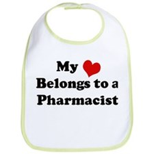 Heart Belongs: Pharmacist Bib