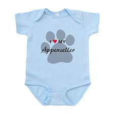 I Love My Appenzeller Infant Bodysuit