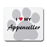 I Love My Appenzeller Mousepad