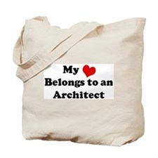 Heart Belongs: Architect Tote Bag
