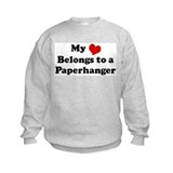 Heart Belongs: Paperhanger Sweatshirt
