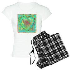 Abstract Heart Pajamas