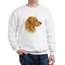 Golden Retriever Portrait Sweatshirt