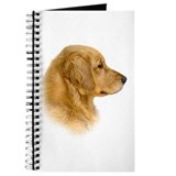 Golden Retriever Portrait Journal