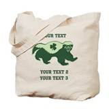 Irish Honey Badger Tote Bag