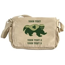 Irish Honey Badger Messenger Bag