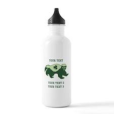 Irish Honey Badger Water Bottle