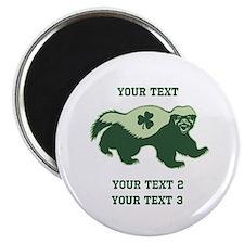 Irish Honey Badger Magnet