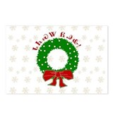 Cherokee Christmas Wreath Postcards (Package of 8)