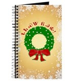 Cherokee Christmas Wreath Journal