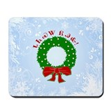 Cherokee Christmas Wreath Mousepad