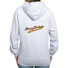 Team Honey Badger Zipped Hoodie