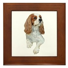 Cavalier King Charles Framed Tile
