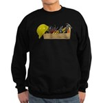 Hardhat Long Wooden Toolbox Sweatshirt (dark)