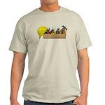 Hardhat Long Wooden Toolbox Light T-Shirt