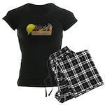 Hardhat Long Wooden Toolbox Women's Dark Pajamas