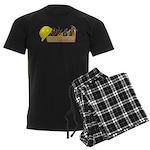 Hardhat Long Wooden Toolbox Men's Dark Pajamas