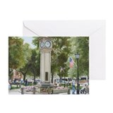 Greeting Cards (Pk of 10): Clock on the Green