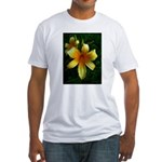daylily daydreams v.3 Fitted T-Shirt