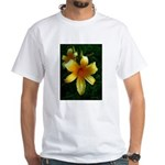 daylily daydreams v.3 White T-Shirt