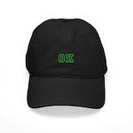 green OK Black Cap
