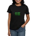 green OK Women's Dark T-Shirt