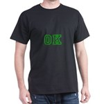 green OK Dark T-Shirt