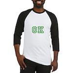 green OK Baseball Jersey