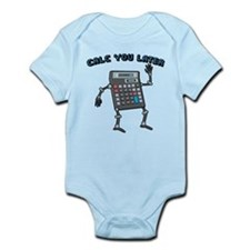 Calc You Later Infant Bodysuit