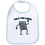 Calc You Later Bib
