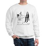 Vampire Has Mixed Blood Type Sweatshirt
