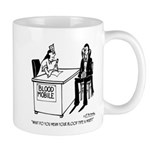 Vampire Has Mixed Blood Type Mug