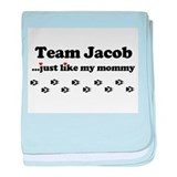 Cute Team jacob baby blanket