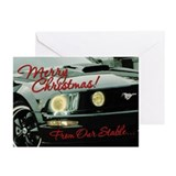 Mustang Greeting Cards V2 (Pk of 10)
