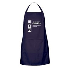 NCIS Gibbs' Rule #8 Apron (dark)