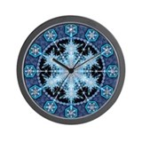 Snowflake 22 Wall Clock