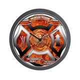 Firefighter Wall Clock