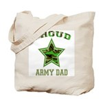 Proud Army Dad: Tote Bag