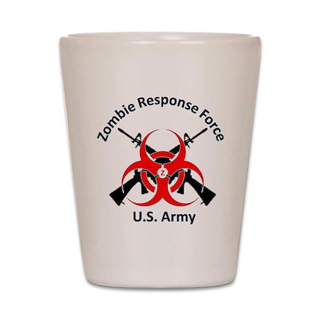 Zombie Response 2 Shot Glass