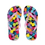Colorful Violins - Flip Flops