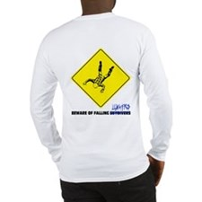 Beware of falling lunatics... Long Sleeve T-Shirt