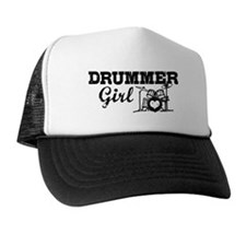 Drummer Girl Trucker Hat