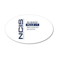 NCIS Gibbs' Rule #1 Wall Decal
