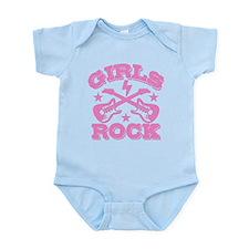 Girls Rock Infant Bodysuit