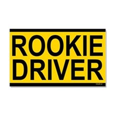 Rookie Driver Car Magnet 20 x 12