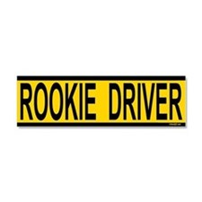 Rookie Driver Car Magnet 10 x 3