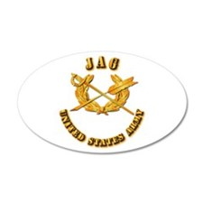Army - JAG 22x14 Oval Wall Peel