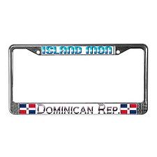 Island Mon - License Plate Frame