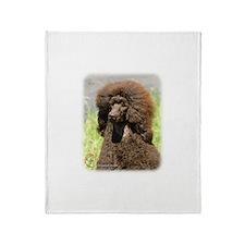 Poodle Standard 9R063D-099 Throw Blanket