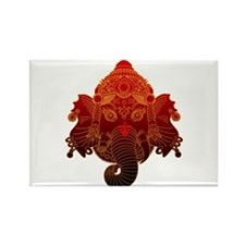 Ganesha Rectangle Magnet